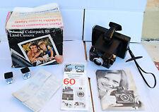 Appareil photo instantané : POLAROID COLORPACK 88 + boite d'origine & notice