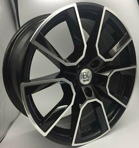 """4 x BK699 18"""" Alloy Wheels & Tyres 2554518 5X120 8X18 T5 T6 VW"""