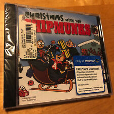 THE CHIPMUNKS Christmas With Jingle Bells Rudolph Frosty CD BRAND NEW SEALED !!