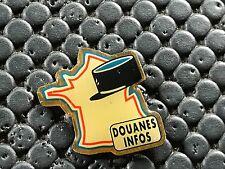 PINS PIN BADGE ARMEE MILITAIRE DOUANE CARTE DE FRANCE