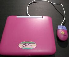 Barbie Electronic Toy Laptop with Mouse + Think Pink Learning Notebook Exc Pre