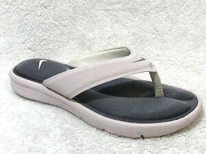 Nike Women's Ultra Comfort Thong Sandals PINK, 7 / 38