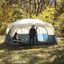 10 Person Ozark Trail 14 X10 Cabin Base Camp Family Shelter Tent Outdoor Camping
