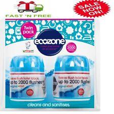 Lot de 2 écozone Toilette ou fosse septique citerne Bloc Clean Fresh 2000 cheveu...