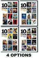 10 FILM COLLECTION - BEST OF - 80's Vol 1 or/and Vol 2 * 90's Vol 1 * 00's Vol 1