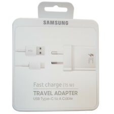 Genuine Original Samsung Fast Charging Travel Adapter (includes Type-C cable)(5V