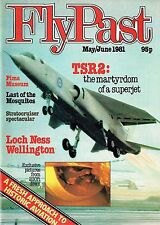 FLYPAST MAY 81: ISSUE No.1 FACSIMILE - TSR2/ LOCH NESS WELLINGTON/ STRATOCRUISER