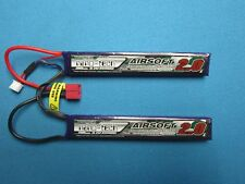 TURNIGY NANO-TECH 2000mAh 2S 7.4V 15C 30C LIPO BATTERY AIRSOFT DEANS T PLUG