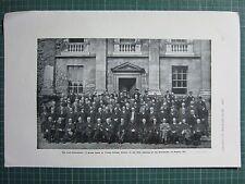 1917 WWI WW1 PRINT ~ IRISH CONVENTION TRINITY COLLEGE DUBLIN AUGUST 1917