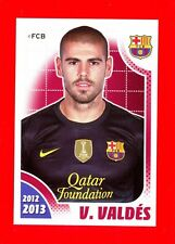 FC BARCELONA 2012-2013 Panini - Figurina-Sticker n. 37 - VALDES  -New