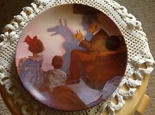 "Knowles Plate, Norman Rockwell, ""The Shadow Artist"" With papers."