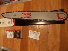 """24"""" Oregon 240RNDD009 chainsaw guide bar & Ripping saw chain 3/8 .050 84 DL"""