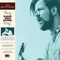 DAVE VON RONK - FOLK MASTER WORKS  VINYL LP + CD NEU