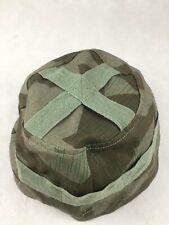 WWII GERMAN FIELD PARATROOPER SPLINTER CAMO M38 HELMET COVER MILITARY REPRO