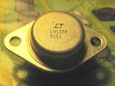 LM137K Adjustable Negative Voltage Regulator TO-3  N.S.   1pcs