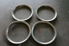 "CHRYSLER DODGE D150 D250  OEM 15"" INCH Chrome Wheel-Trim Ring 52006025 SET"