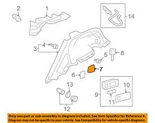 Infiniti NISSAN OEM 09-13 FX50 INTERIOR-Lower Quarter Trim Cover Left 849971CA0B