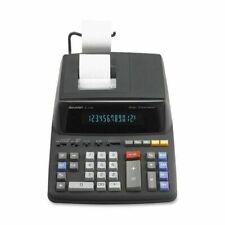 12-Digit 2-Color Standard Function Printing Calculator w/Clock & Calendar