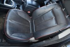 HYUNDAI SANTA FE MK 2 PASSENGER FRONT ELECTRIC SEAT LEATHER  BLACK WITH RED TRIM