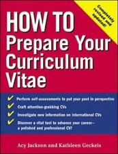 How to Prepare Your Curriculum Vitae How To?series)