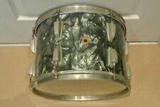 "50s WILLIAM F LUDWIG WFL BLACK DIAMOND PEARL BDP 13"" TOM for YOUR DRUM SET! F954"