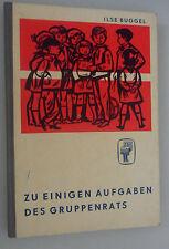 zu Einigen Aufgaben des Gruppenrates FDJ  DDR-Pioniere 1963 /// SELTEN