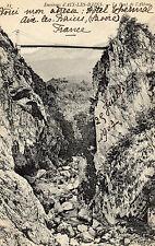 OLD POSTCARD -  FRANCE - 23 Environs d'AIX LES BAINS le Pont de l'Abime - c1910