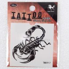 Scorpion Flash Tattoo Removable Waterproof Temporary Tattoo Sticker Body Art 1pc