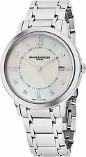 Baume Mercier Women's Classima MOP Dial Stainless Steel Quartz Watch MOA10225