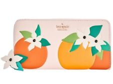 Kate Spade New York  Spice Things Up Orange Blossom Lacey Zip wallet
