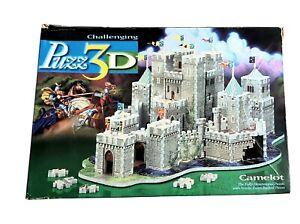 Camelot Milton Bradley 620 Piece Puzz 3D Puzzle Realistic Sturdy Challenging