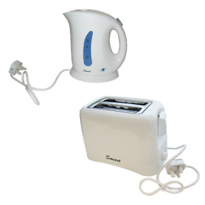 ELECTRIC LOW WATTAGE 800W TOASTER and 850W KETTLE caravan motorhome camping boat