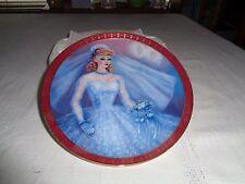 Danbury Mint High Fashion Barbie The 1959 Barbie Bride To Be Plate