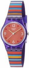 Swatch Women's Multi-codes Multi-Color Silicone Strap Watch LV119