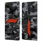 OFFICIAL FORMULA 1 F1 LOGO LEATHER BOOK WALLET CASE FOR MICROSOFT NOKIA PHONES