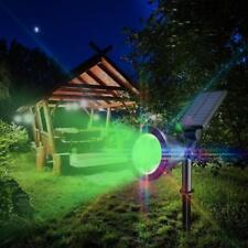 LED Solar Light Outdoor Waterproof Lamp  Garden 7-Color Change Spotlight