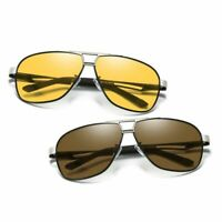 Mens Polarized Transition Photochromic Sunglasses Driving Pilot Sport UV K486