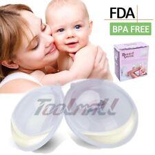 Mom Manual Breast Breastfeeding Pump Baby Feeding Milk Saver Collector Silicone