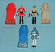 vintage Mego Micronauts complete PHAROID LOT x3 gray red/orange blue