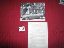 N°4649 /  JAGUAR Mark 10 prospectus en français