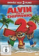Alvin und die Chipmunks - Teil 1-3 [3 DVDs] von Tim Hill,... | DVD | Zustand gut