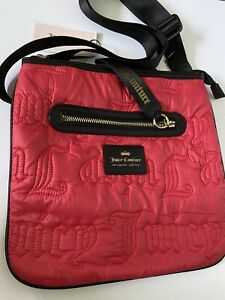 Juicy Couture Women's Gothic Quilting Large Crossbody Bag NWT