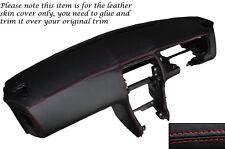 Rojo Stitch Dash Dashboard Leather piel cubierta Para Nissan S14 200sx 1994-1999