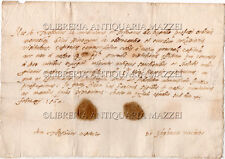 1569 – CARTA VISITATIONIS DEL MONASTERO DI SAN GEROLAMO DI NOVARA – MANOSCRITTO