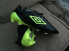 Umbro Velocita Pro Firm Ground Football Boots Size 10 Brand New With Tags Mint
