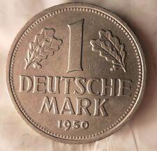 1950 G GERMANY DEUTSCHE MARK - AU - FREE SHIP - GERMAN BIN #14