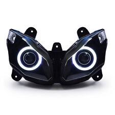 KT Angel Eye HID Headlight Assembly for Kawasaki Ninja 650 2012 13 14 15 2016