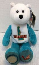 Limited Treasures State Quarters Coin Collectible Teddy Bears Delaware #1