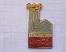 COCA-COLA / OLYMPISCHE SPIELE LAKE PLACID `80 ... Winter Sport Pin (126i)