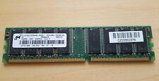 Micron MT16VDDT3264AG-256A1. 256MB, DDR, 266Mhz, CL2.5. PC2100U-25330-B1